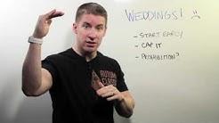 You Need A Wedding Budget | Whiteboard Wednesday: Episode 74
