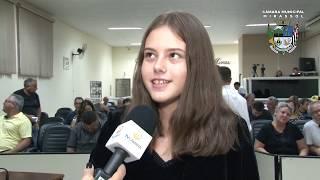 Jovens vereadores concluem 1ª Legislatura da Câmara Mirim