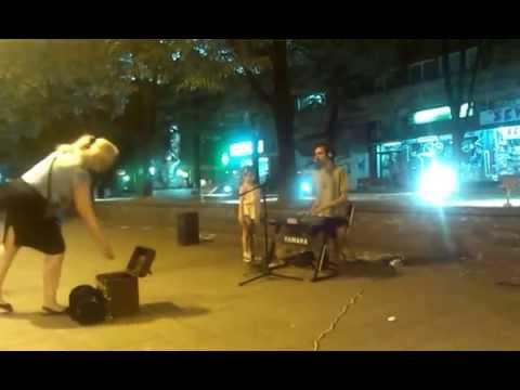 Marko street performer