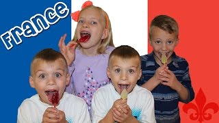 Kids Try Foods From FRANCE || Universal Yums