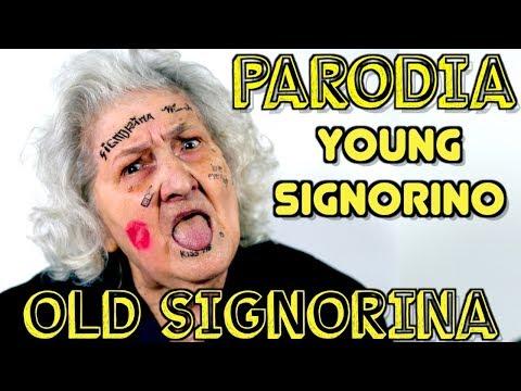 SE MIA NONNA FOSSE YOUNG SIGNORINO - PARODIA Mmh Ha Ha Ha - iPantellas