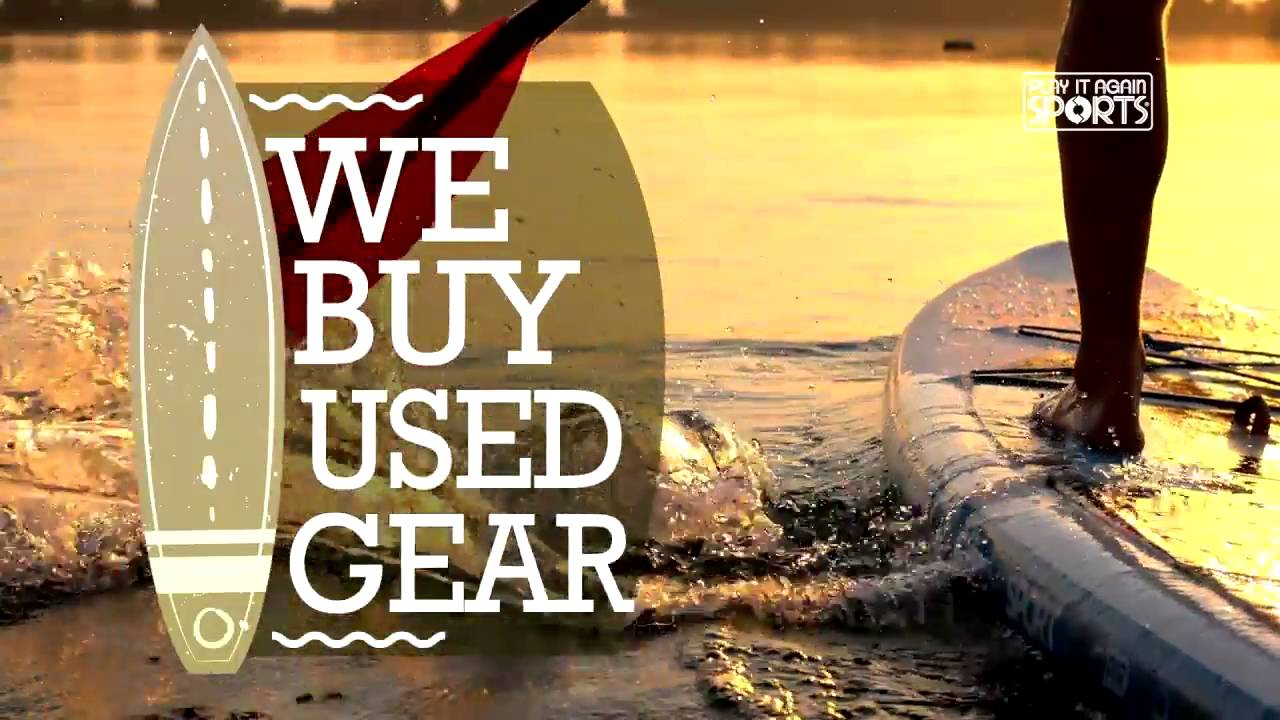 Play It Again Sports - South Surrey, BC - We Buy Paddleboards! - YouTube