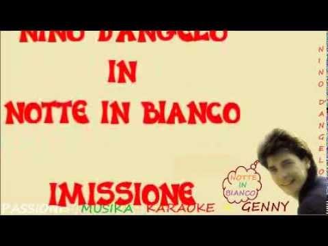 NINO D'ANGELO Notte in bianco karaoke
