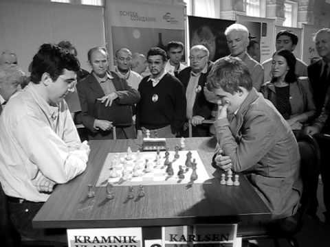 Kramnik - Carlsen  Wch  blitz 2008 chess