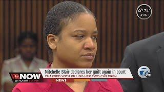 Mitchelle Blair outburst in court