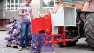 Измельчитель веток, дров, рубильная машина АМ-120 навесной