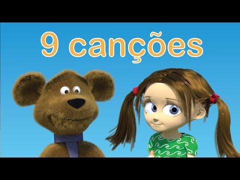 Musica infantil portuguesa | Se você está contente bata palmas y | 9 canções Tinyschool Português