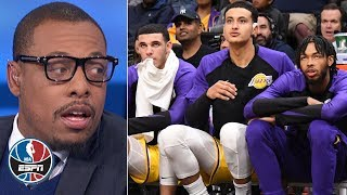Young Lakers need to grow up and get over the trade rumor turmoil - Paul Pierce | NBA Countdown