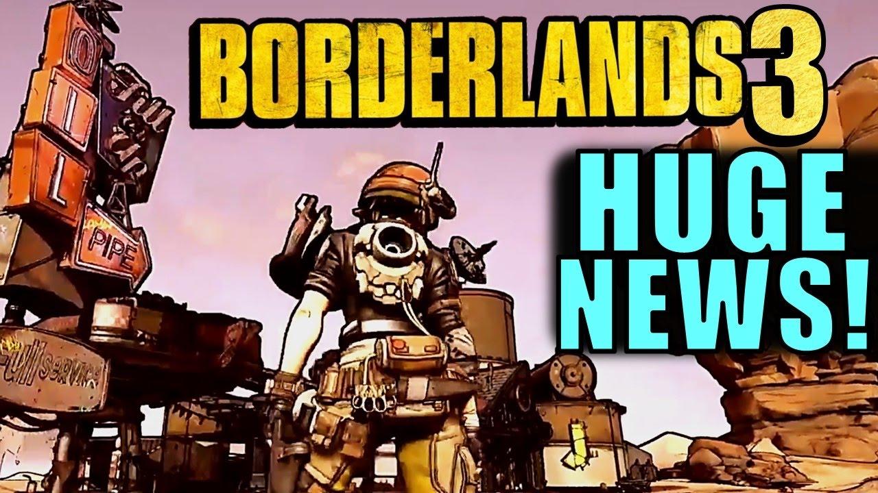 HUGE BORDERLANDS 3 NEWS! | GDC 2017 Tech Demo - YouTube Borderlands 3 News