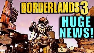 HUGE BORDERLANDS 3 NEWS! | GDC 2017 Tech Demo