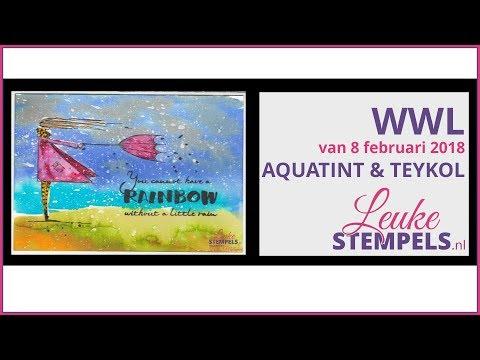 Workshop Live van 8 Februari 2018 Aquatint & Teykol
