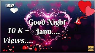 Good night lovely whatsapp status video hum teri mohobbat main....