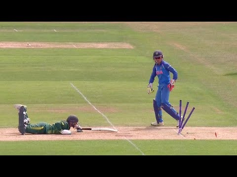 Verma's quick stumping! - #WWC17 Nissan Play of the Day!