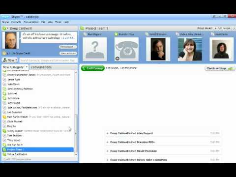 HOW TO: Create Group & Make Conference Calls Using Skype