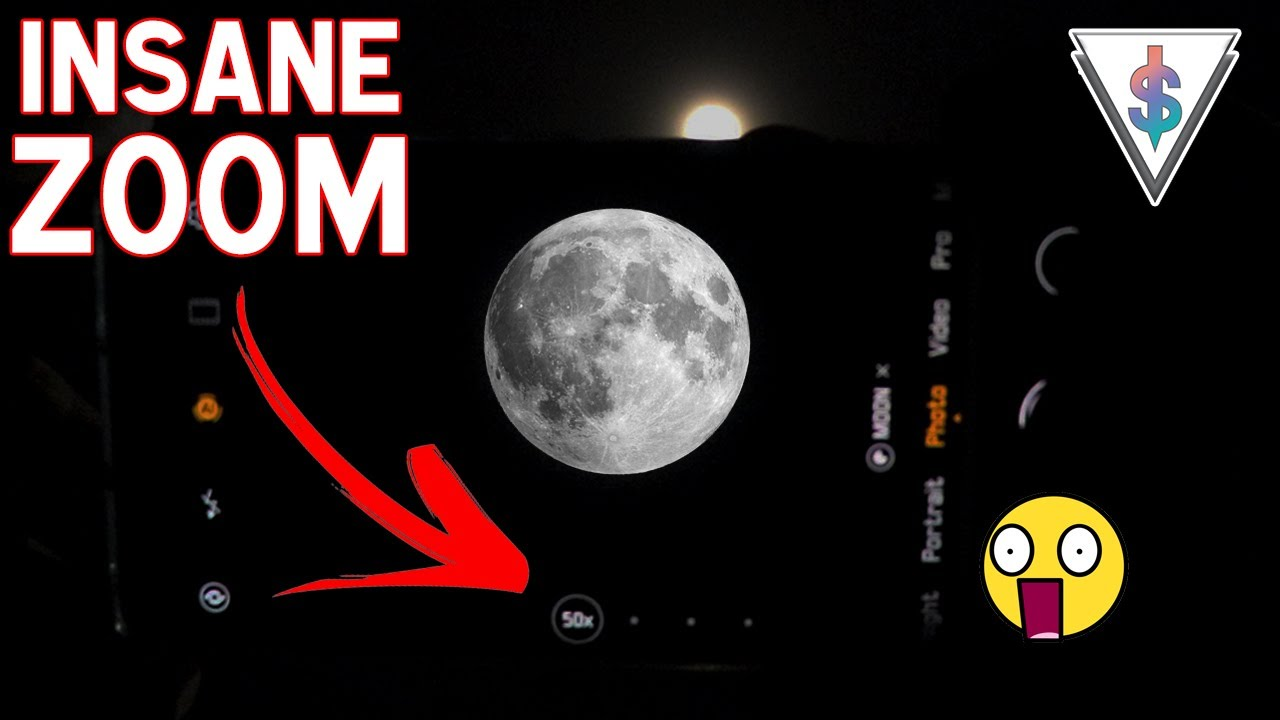 Shooting The Moon With The 50x Zoom Huawei P30 Pro Vs Canon 80d Vs Iphone Xs Max