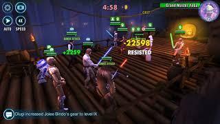 Rebels w C3PO VS Revan - SWGOH