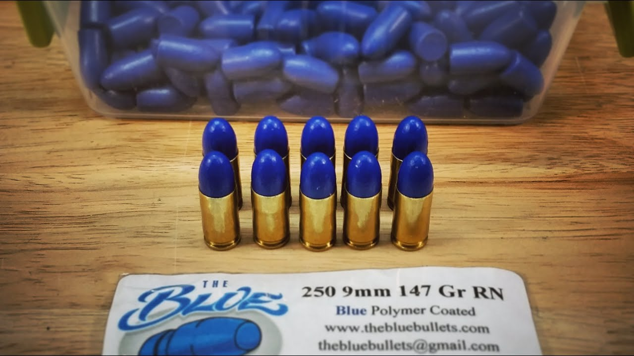 The Blue Bullets 147gr 9mm