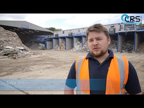 CRS Complete Waste Solution Plant at Smith Recycling Milton Keynes