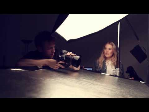 BTS Haara photography - Shoot Laila Gatonye - Mua Cathrine Eliassen Lie