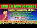 Java 8  ||   3 Demo Programs about Primitve Type Functional Interfaces for Function || By Durga