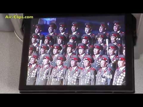 Air Koryo - North Korean in-flight entertainment [AirClips]