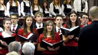 Top 21 Performs at Bethel Park Community Center Holiday Concert 12-15-13