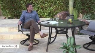 Belham Living Charter All-Weather Wicker Outdoor Swivel Rocker - Product Review Video