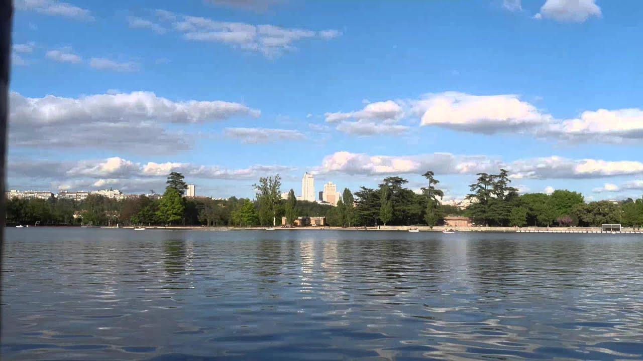 Timelapse en el lago de la Casa de Campo (Madrid) - YouTube