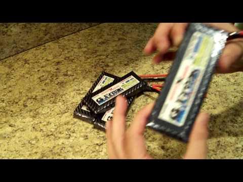 G Freak 3S 5000 Carbon Fibre Lipo Lithium Polymer Demo