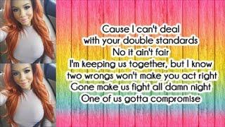 Kyndall - Double Standard (Lyrics)