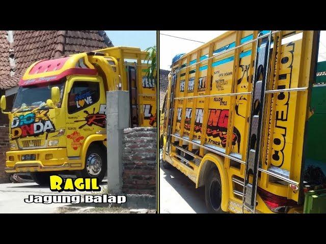 Truck Cakep Modifikasi RAGIL KUNING Yellow Style et APTA BRAYEN