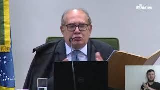 """Gilmar: """"O que se fala dessa 7ª vara Federal do Rio é de corar frade de pedra"""""""