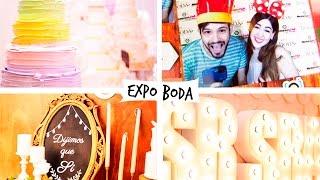EN UNA EXPO BODA | VLOG | GRIS Y CHARLY