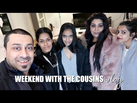 WEEKEND WITH THE COUSINS VLOG / Nishi V