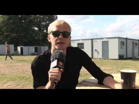 Mr Hudson V Festival Interview: Why I still ride...