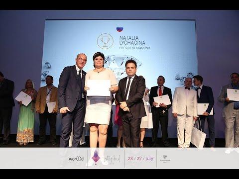 President Diamond World GN Наталья Лычагина - Новости с Diamond Life Tour Istanbul