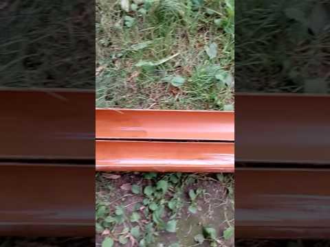 Форма из ПВХ трубы для заливки бетонных столбиков