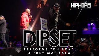 "Dipset Performs ""Oh Boy"" & ""Hey Ma"" Live At SXSW 2015"