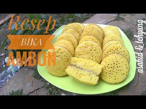 Resep Membuat Bika Ambon (Khas Medan) # How to Make Bika Ambon (from Medan)
