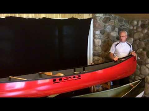 H20 Prospector 15/4 Canoe Review
