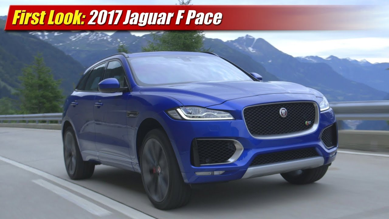 Creative First Look 2017 Jaguar F Pace  YouTube