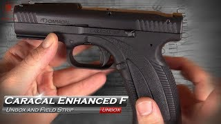 Caracal Limited Edition  Enhanced F Unbox and Field Strip