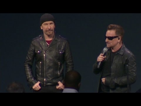 U2 new album 'Songs of Innoncents' free on iTunes
