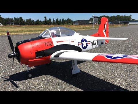 Maiden Flight Only - 1100mm Eleven Hobby T-28 Trojan RC Warbird