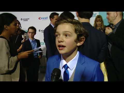 Wonder Premiere Noah Jupe (Jack Will)...