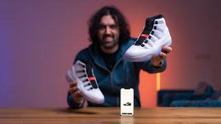 Umí tvoje Siri zavázat boty? Nike Air Jordan 11 'Adapt' [4K]