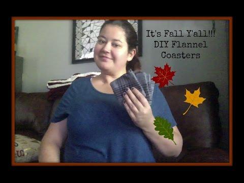 Happy Fall Y'all!! DIY Autumn Coasters