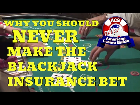 Why You Should Never Make The Blackjack Insurance Bet With Blackjack Expert Henry Tamburin