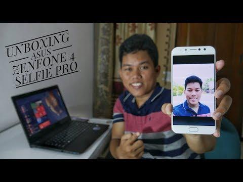 ASUS Zenfone 4 Selfie Pro Unboxing Indonesia