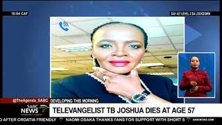 Nigerian televangelist TB Joshua dies